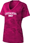 College Lane® Ladies Camohex Tshirt