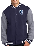 College Lane® Fleece Letterman Jacket
