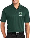 College Lane® Active Textured Colorblock Polo