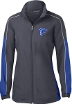 College Lane® Ladies Piped Colorblock Wind Jacket