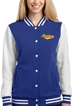 College Lane® Ladies Fleece Letterman Jacket