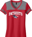 College Lane® Juniors Varsity V-Neck Tee