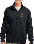 College Lane® Tech Fleece 1/4-Zip Pullover