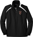 College Lane® 1/2-Zip Wind Shirt