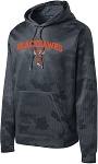 College Lane® CamoHex Fleece Hooded Pullover