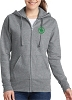 Port & Company® Ladies Core Fleece Full-Zip Hooded Sweatshirt