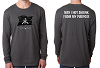 Next Level Men's Cotton Long-Sleeve Crew