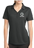 Sport-Tek Ladies PosiCharge Micro-Mesh Polo - Embroidered - V