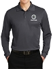 Sport-Tek Long Sleeve Micropique Sport-Wick Polo - Heat Press - V