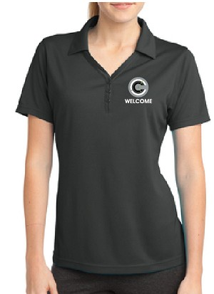 Sport-Tek Ladies PosiCharge Micro-Mesh Polo - Heat Press - V
