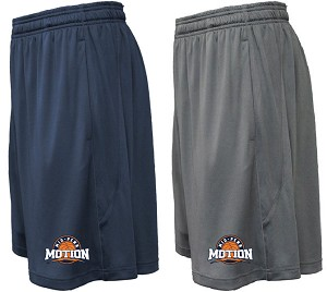 Pennant Arc Solid Shorts
