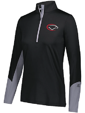 Russell Ladies Hybrid Pullover