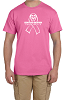 Fruit of the Loom Adult 5 oz. HD Cotton T-Shirt - PINK RIBBON
