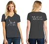 District Women's Perfect Blend V-Neck Tee - WG
