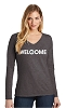 District Women's Very Important Tee Long Sleeve - V