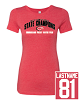 Next Level - Women's Triblend Short Sleeve Crew - STATE CHAMPS