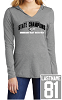 District Women's Perfect Tri Long Sleeve Hoodie - STATE CHAMPS