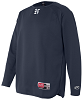 Rawlings Long Sleeve Flatback Mesh Fleece Pullover