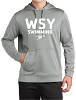 Sport-Tek PosiCharge Sport-Wick Heather Fleece Hooded Pullover